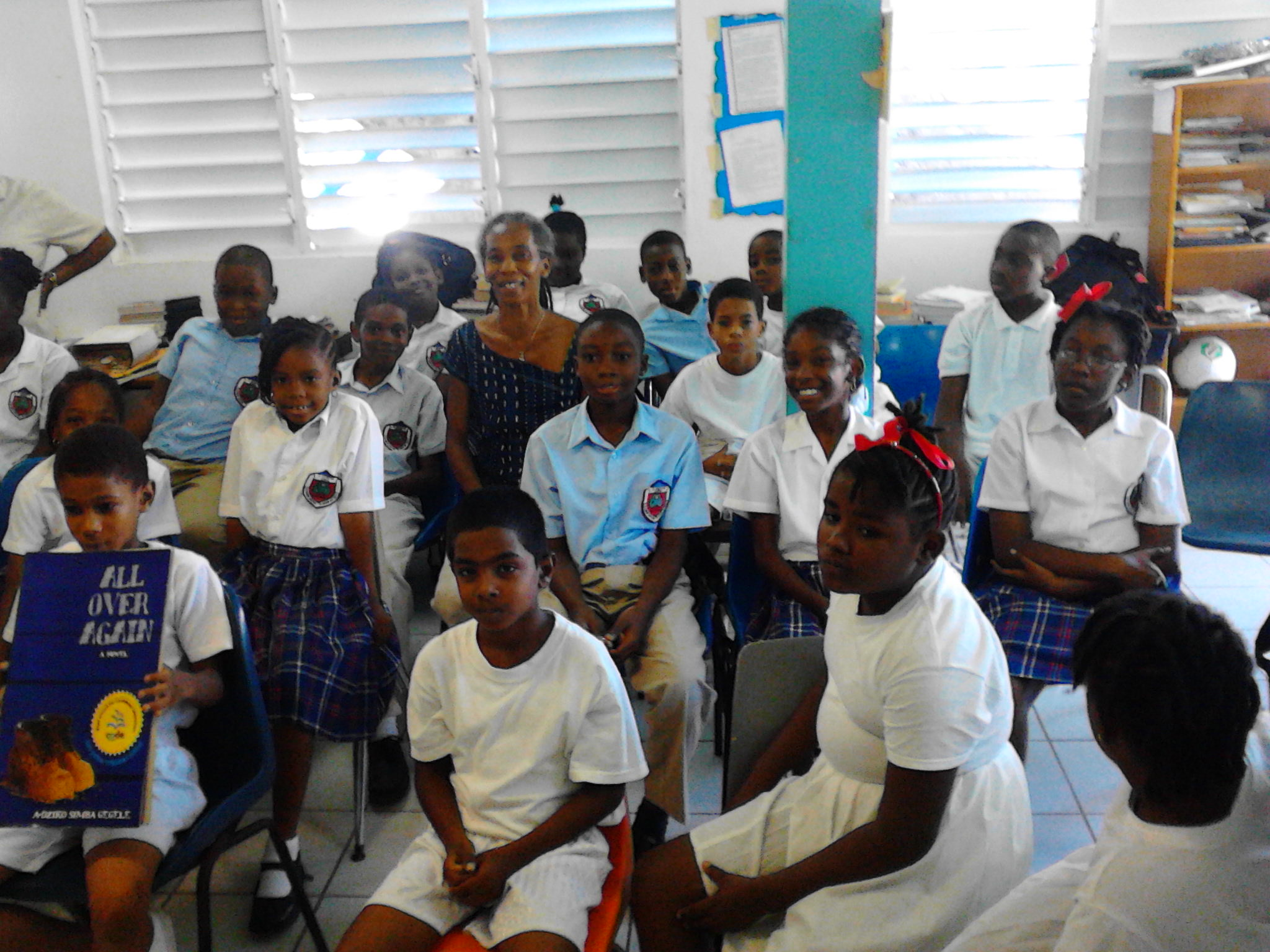 At St. Augustine Primary School